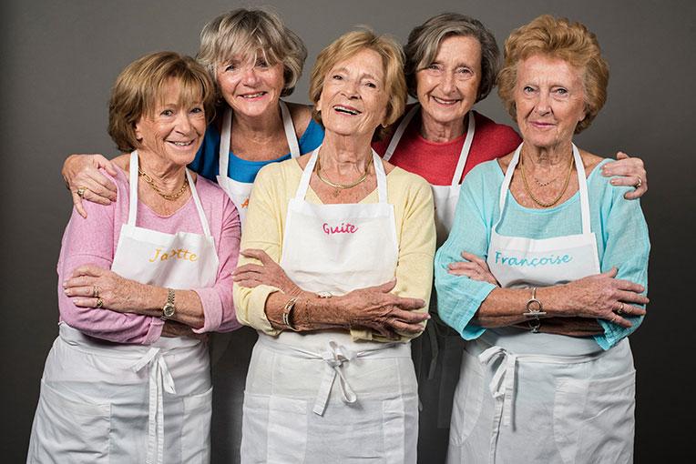 5 Drôles de Sœurs en Cuisine